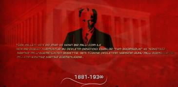 Rahmet ve Saygıyla anıyoruz: Mustafa Kemal ATATÜRK